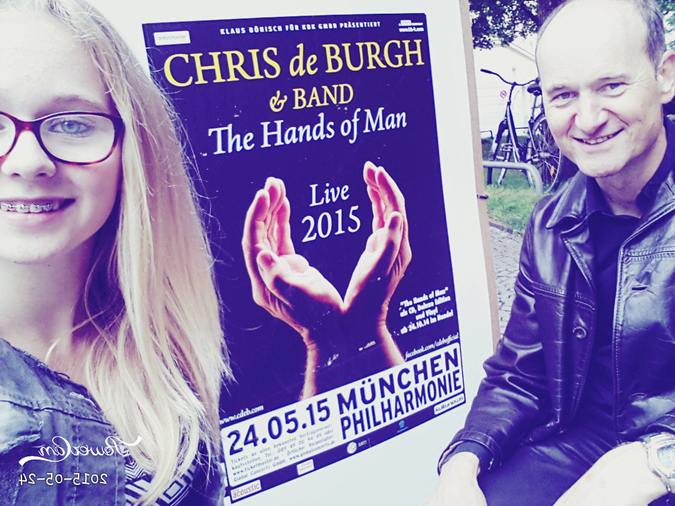 Meet And Greet mit Chris de Burgh in München