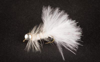 Wooley Bugger #10 light white