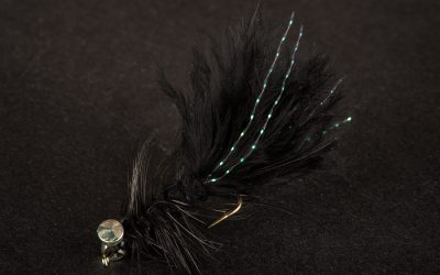 Wooley Bugger #10 X-heavy black