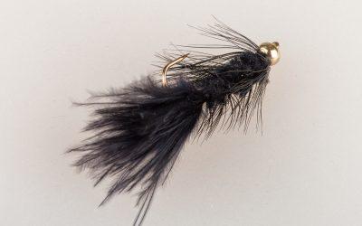Wooley Bugger #10 light black